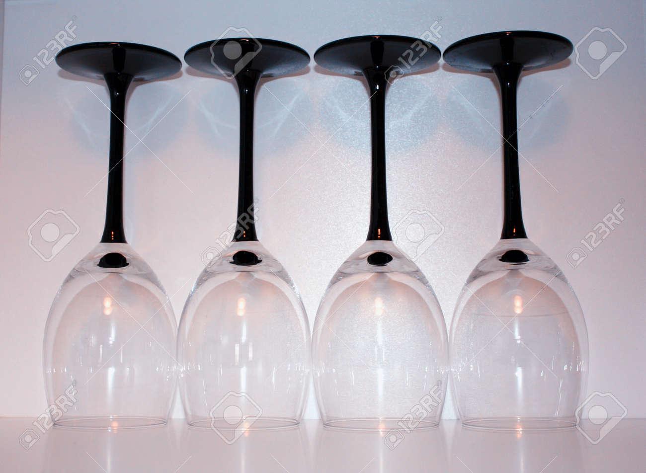 White glass against a white background - 157151941