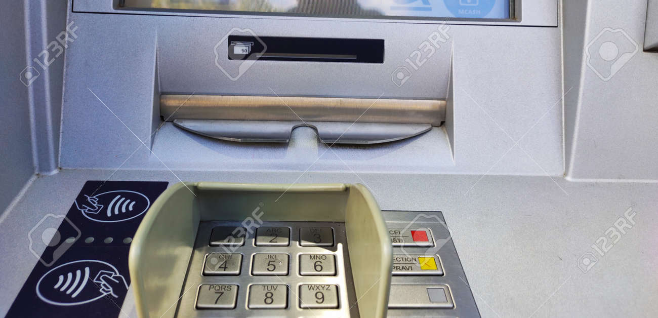 Automated teller machine or ATM - 157271651