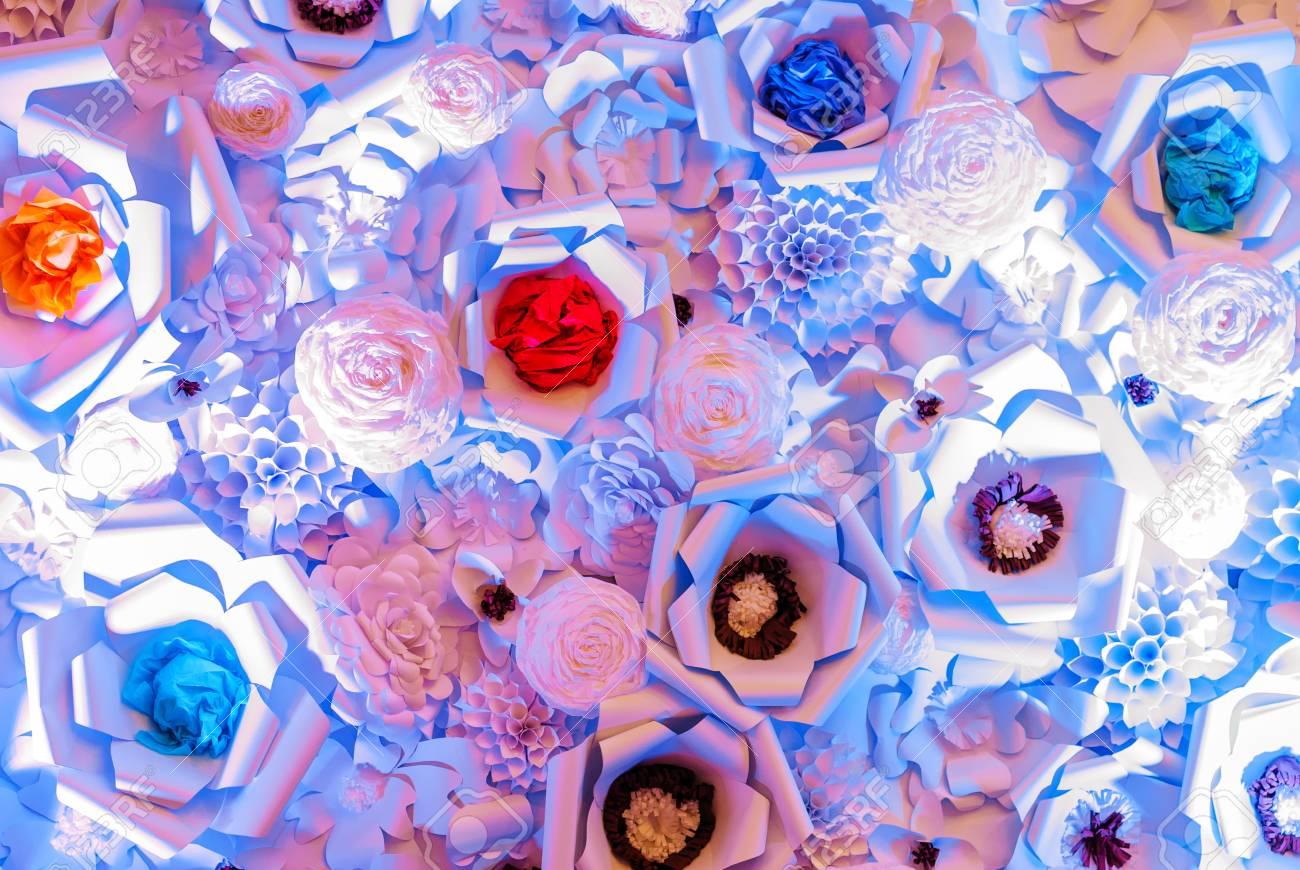 Texture Vieux Fond De Papier Avec Couleur Pastel Rose Panachee