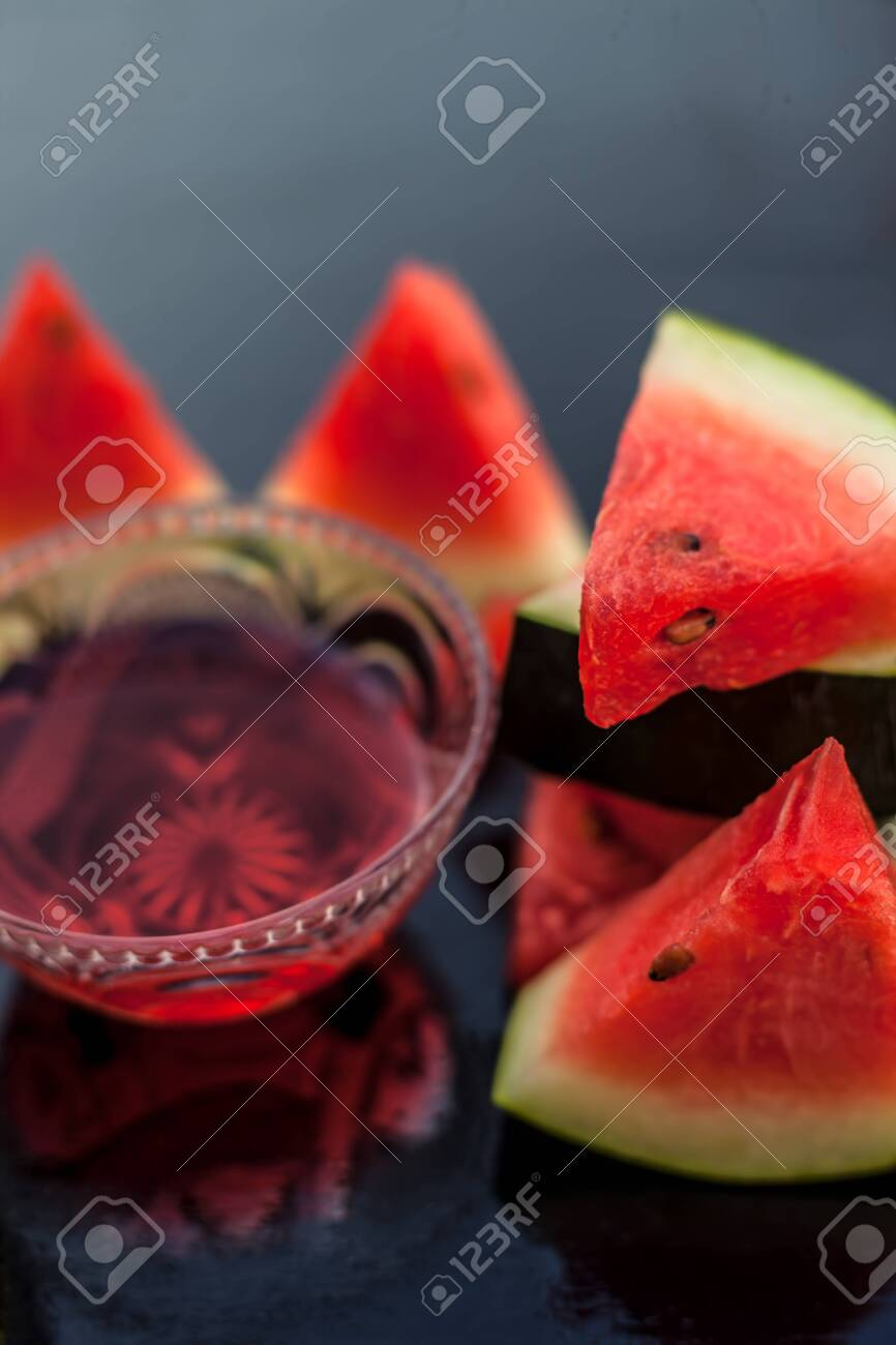 Watermelon Face Pack Or Face Mask For Extra Soft Glowing Skin Stock Photo Picture And Royalty Free Image Image 127460868