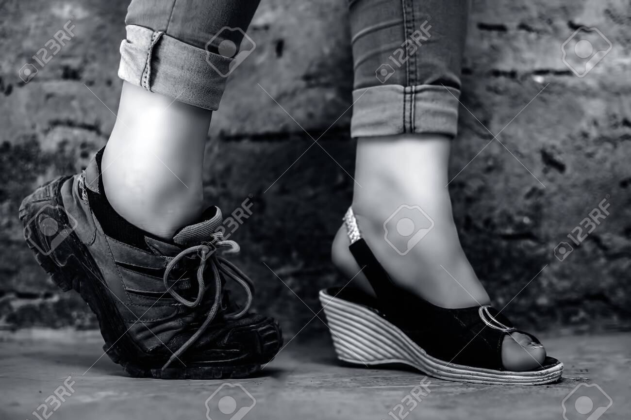 The Elegant Foot Of Young Teen Girl