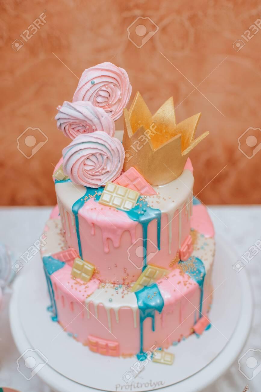 Enjoyable Giant Cupcake Babys First Birthday Smash Cake Stock Photo Funny Birthday Cards Online Barepcheapnameinfo