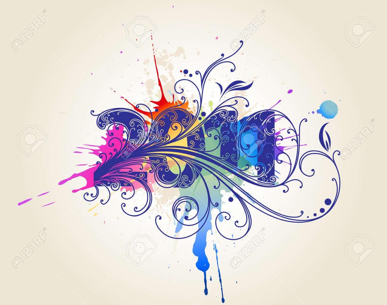 Font composition - 7599497