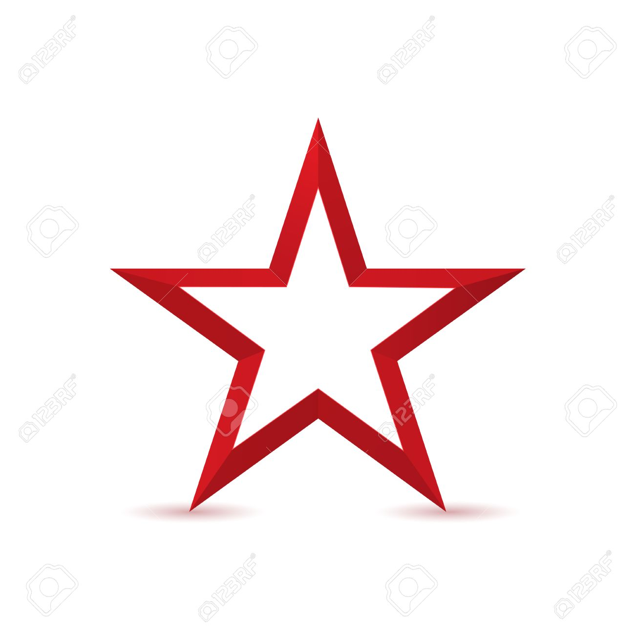 Red star logo icon isolated on white background success award red star logo icon isolated on white background success award or communism symbol stock biocorpaavc