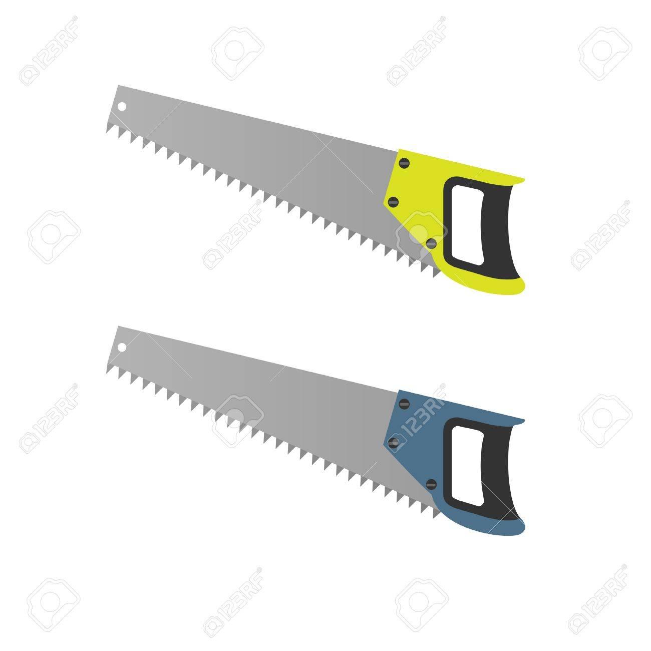 手鋸セット大工道具ベクトル イラストのイラスト素材ベクタ