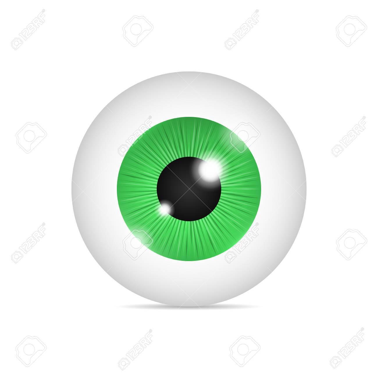 realistic human eyeball royalty free cliparts vectors and stock rh 123rf com flying eyeball vector free vector eyeball