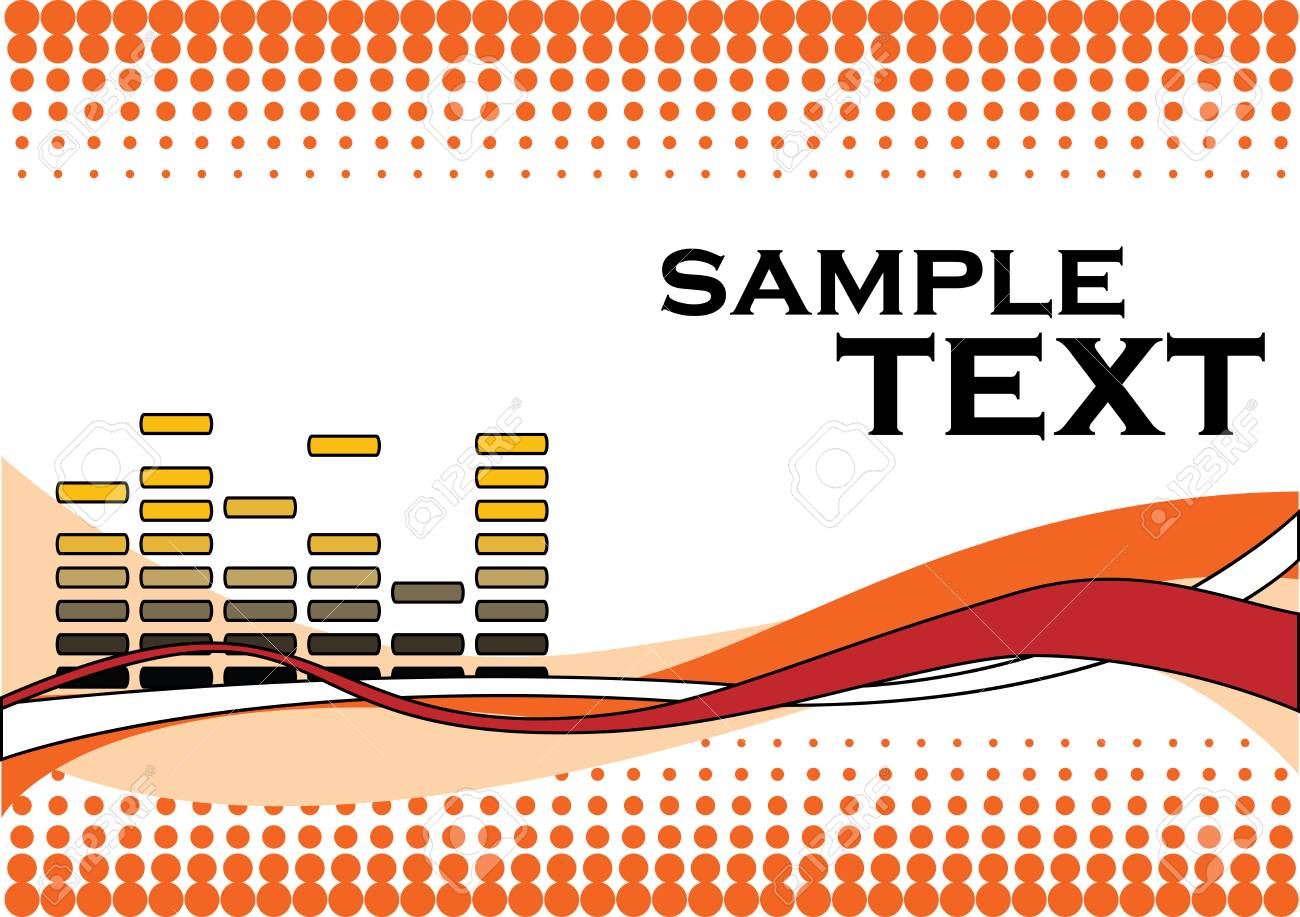vector music background Stock Vector - 2790180