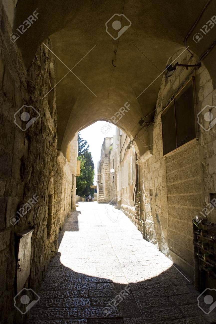 Old city of Jerusalem Stock Photo - 15578771