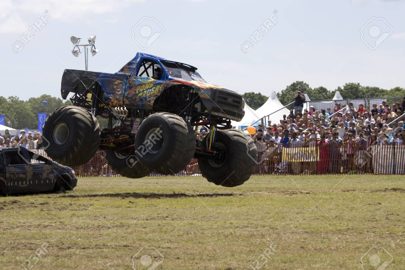 Monster Truck At Car Show Stock Photo Picture And Royalty Free - Monster car show