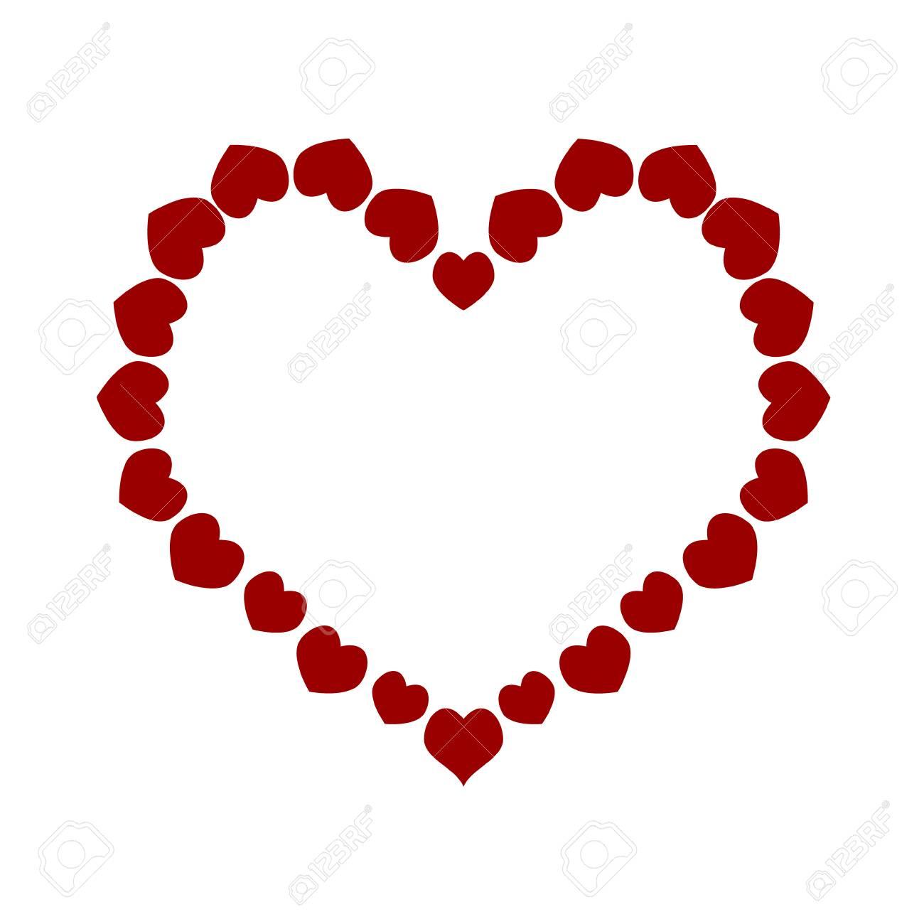 Corazón Hecho De Pequeños Corazones Amo Los Pequeños Momentos El