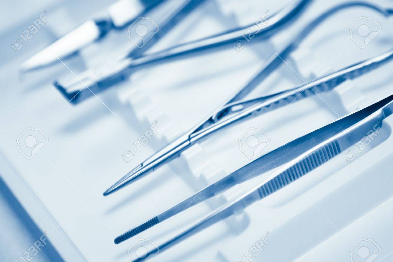 dentals tools with shallow depth of field Stock Photo - 12430009