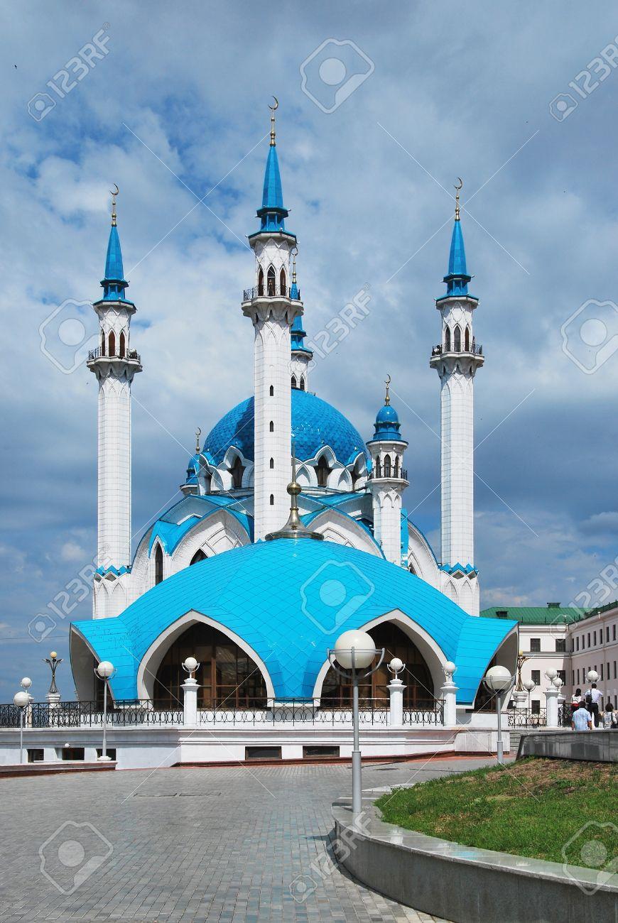 Russia. City of Kazan. The Kul Sharif mosque - 10280709