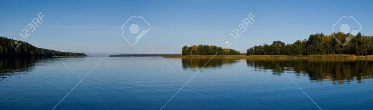beautiful forest at the gulf coast. Gulf of Finland. - 11010203