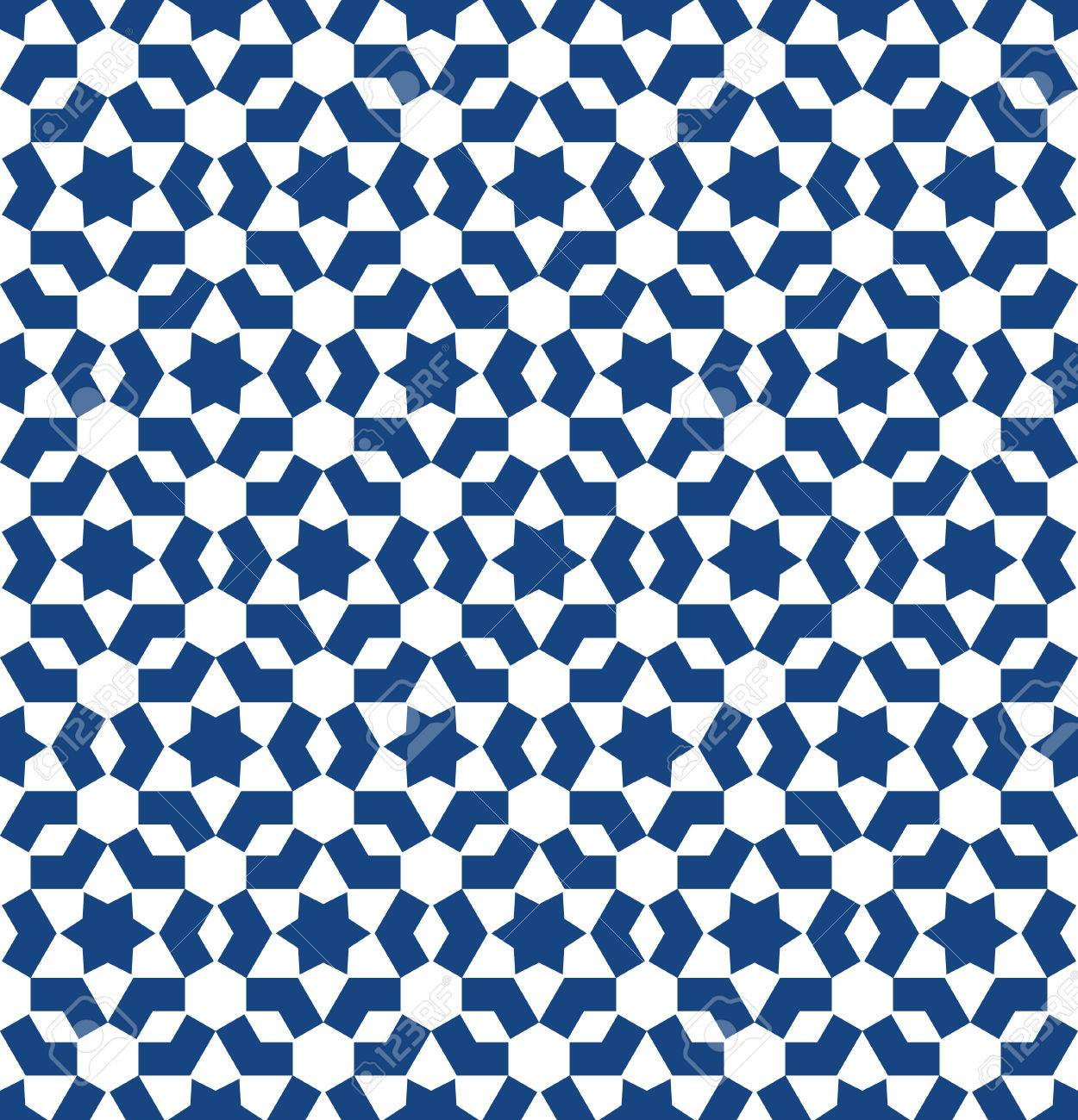Banco De Imagens   Moroccan Style Mosaic Ornament. Seamless Mosaic Tile  Pattern