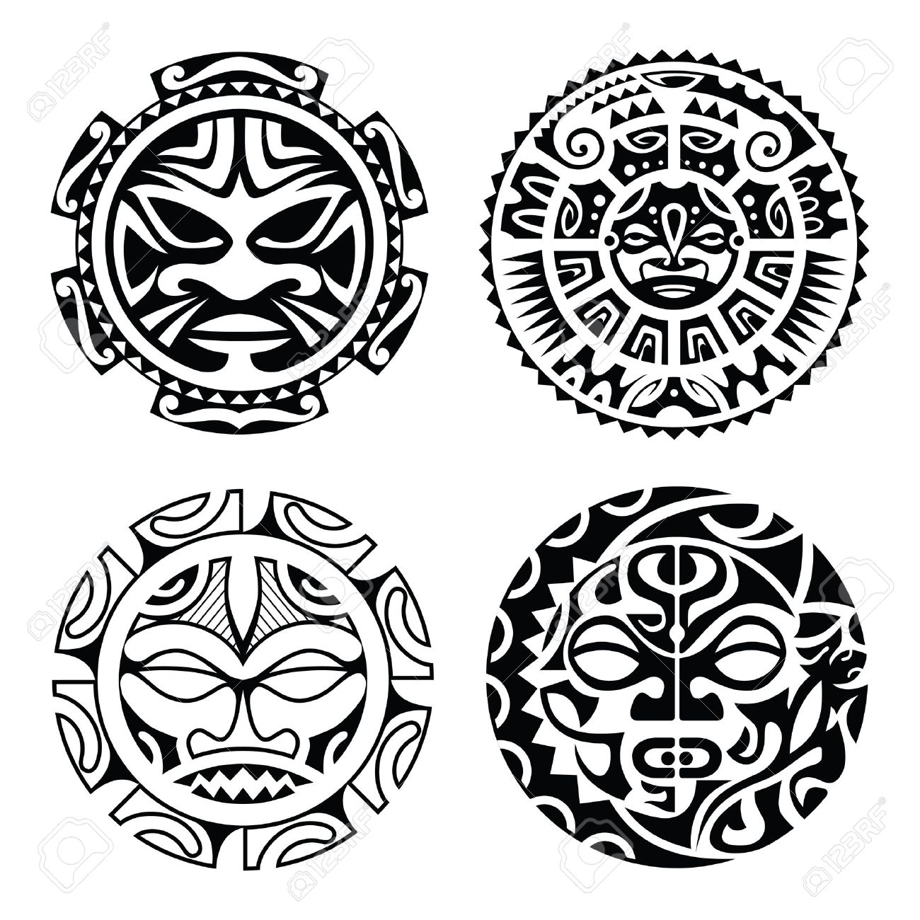 Significado Tatuajes Maories De Los Tatuajes Maor Las Mejores - Dibujos-maoris