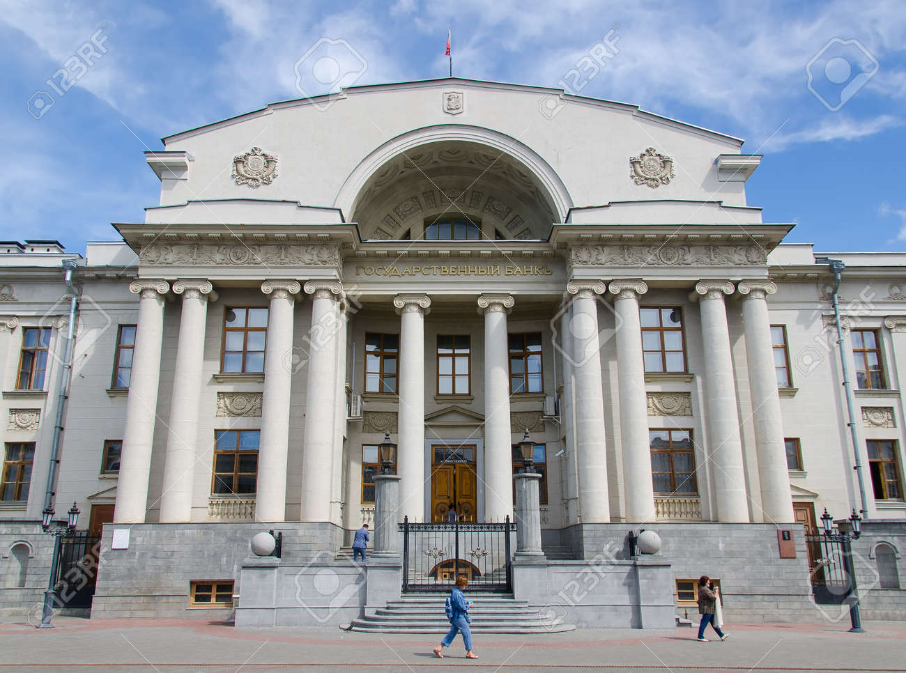 The building of the Central Bank of the Russian Federation in Kazan on Bauman Street - 165008537