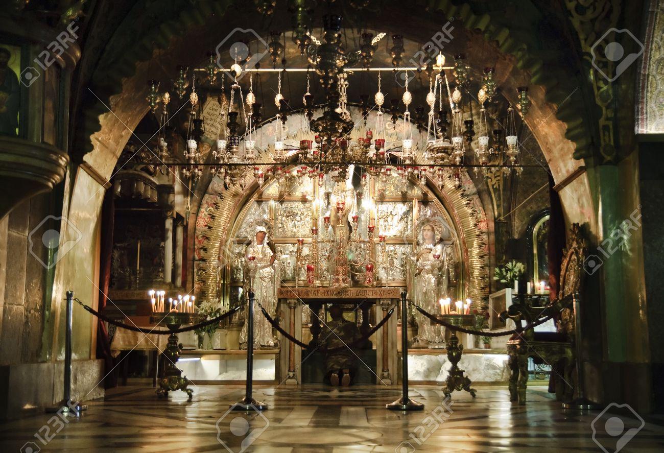 Golgotha- Calvary- old town of Jerusalem, Israel - 15156854