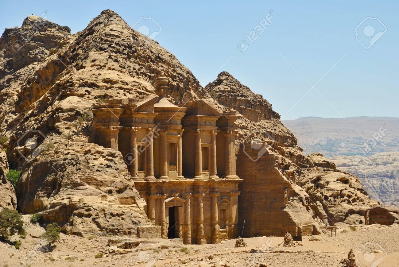Ad Deir, monastery in Petra, Jordan - 23869329