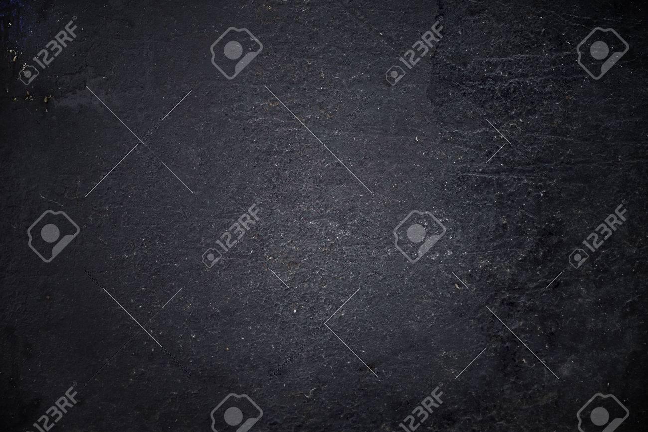 Grungy black textured metal background - 47355277