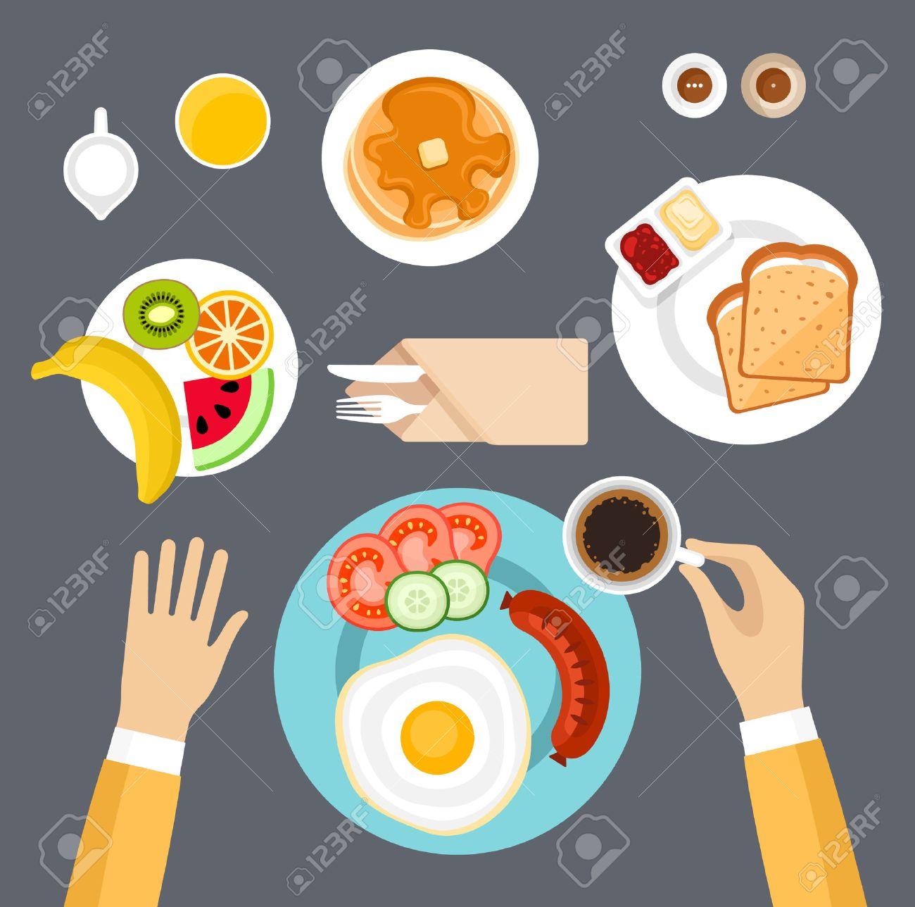 Breakfast set. - 40243455