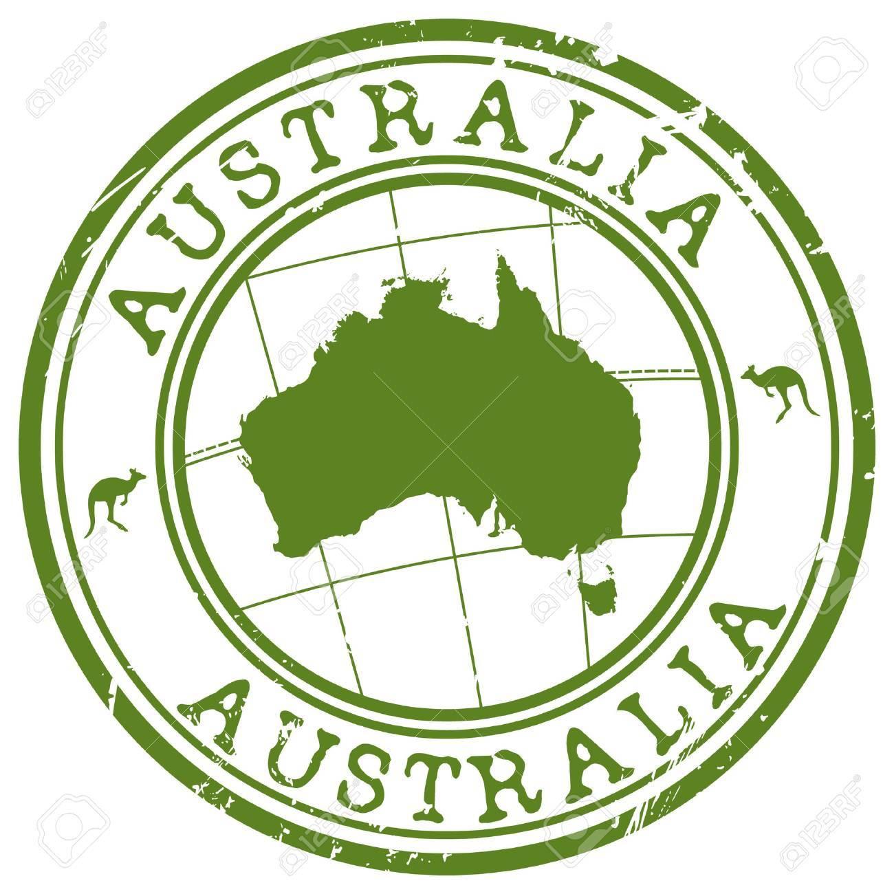 australia stamp - 52359304