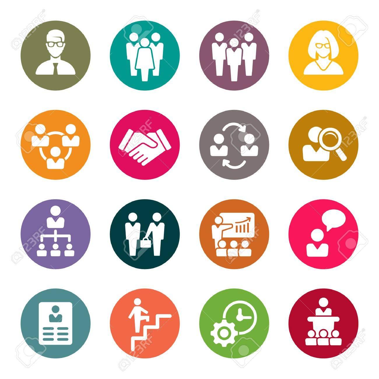 management icons - 53709233