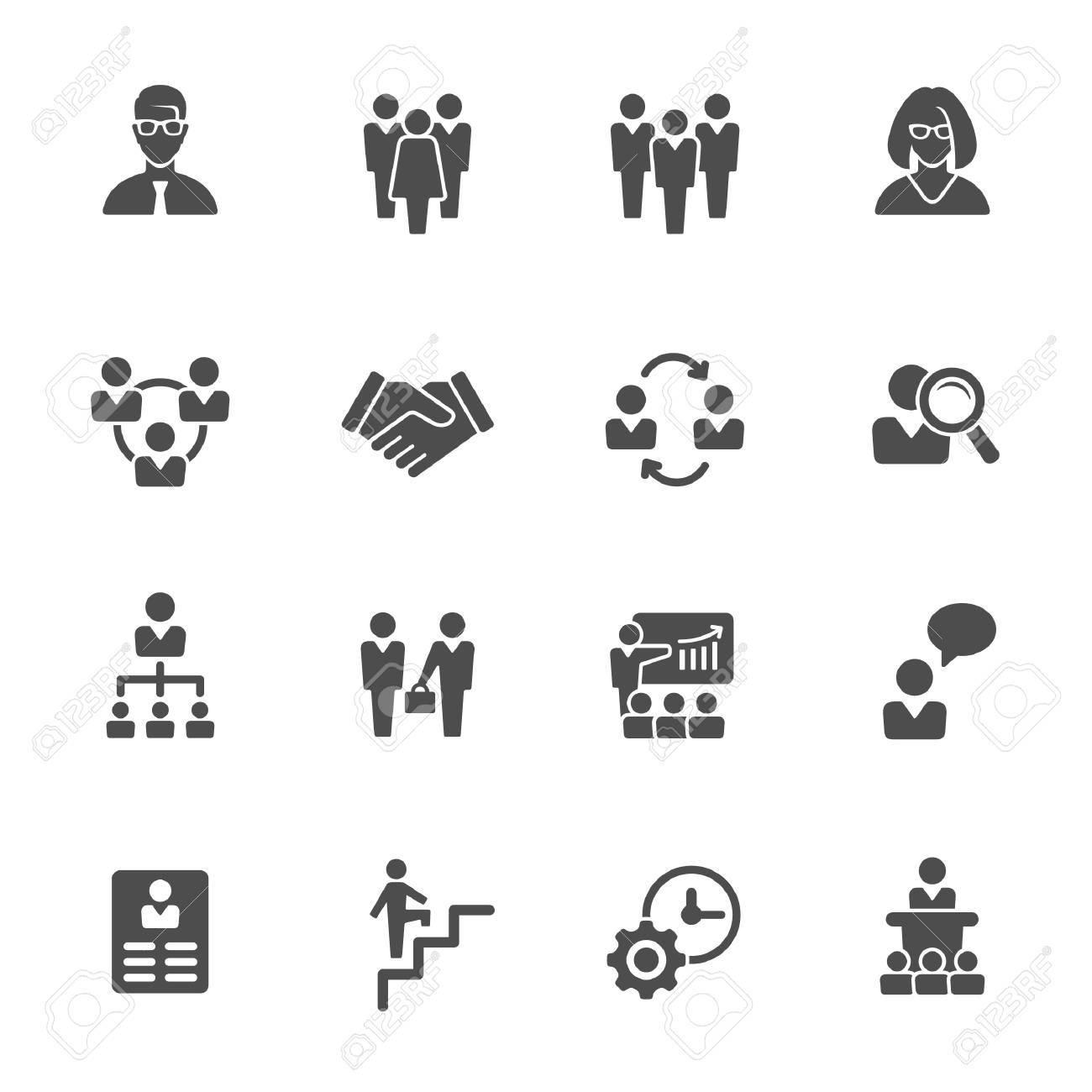 management icons - 53709236