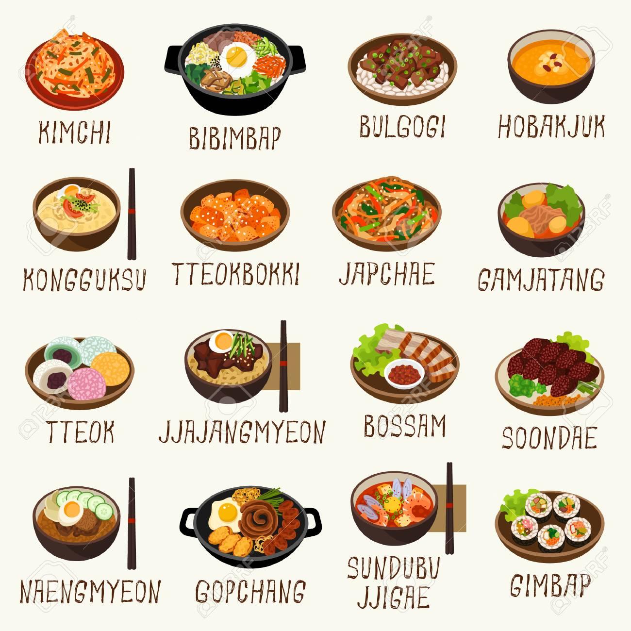 Korean food - 98212040