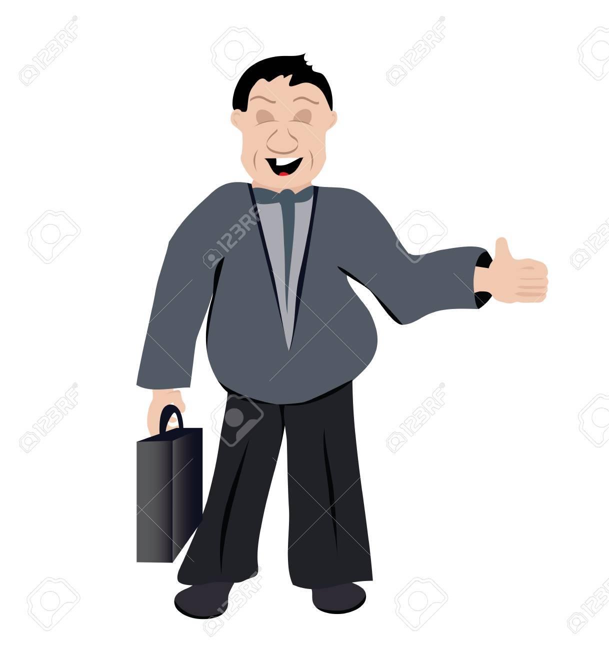 office man Stock Vector - 22725863