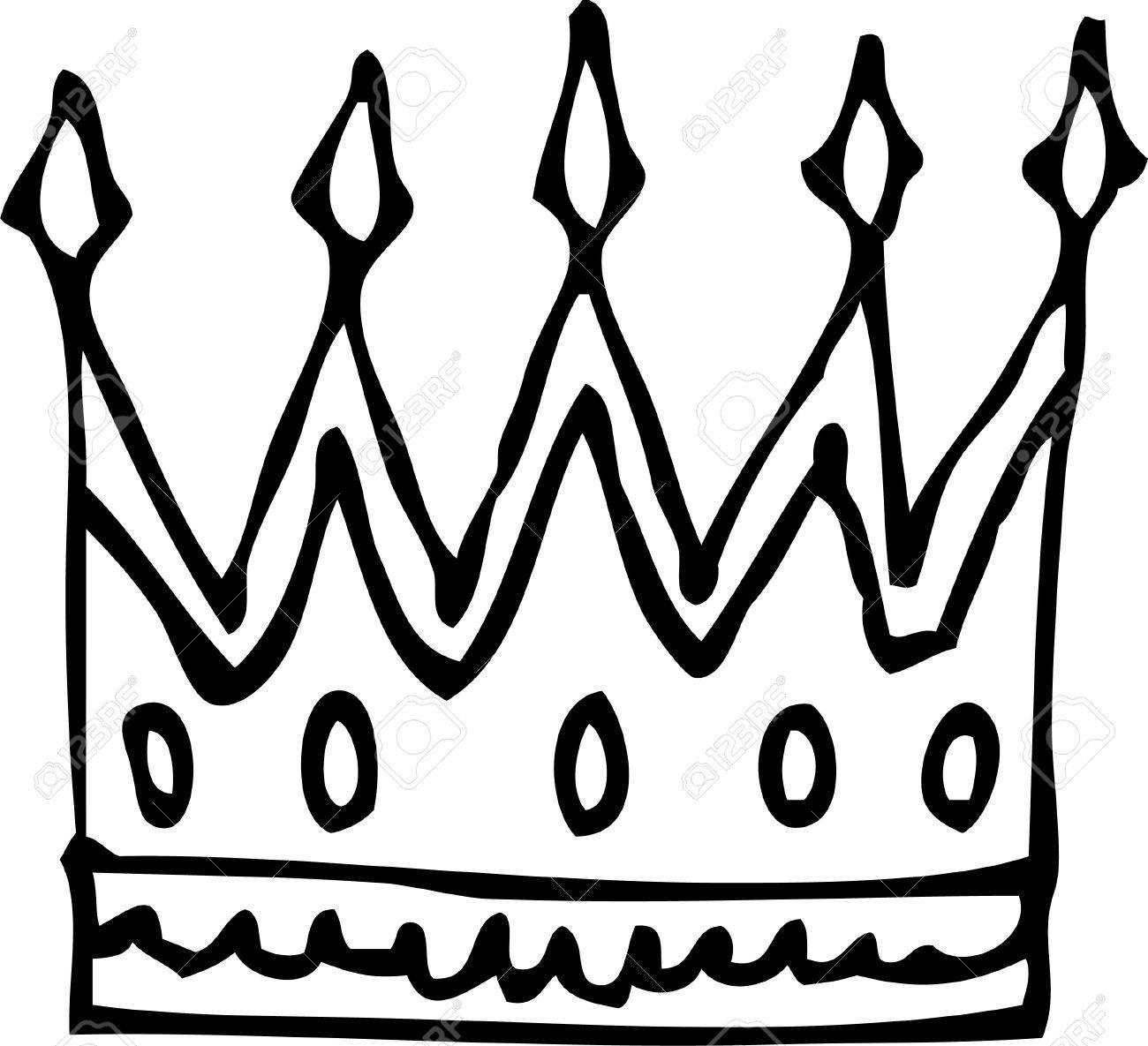 Royal crown Stock Vector - 13931796