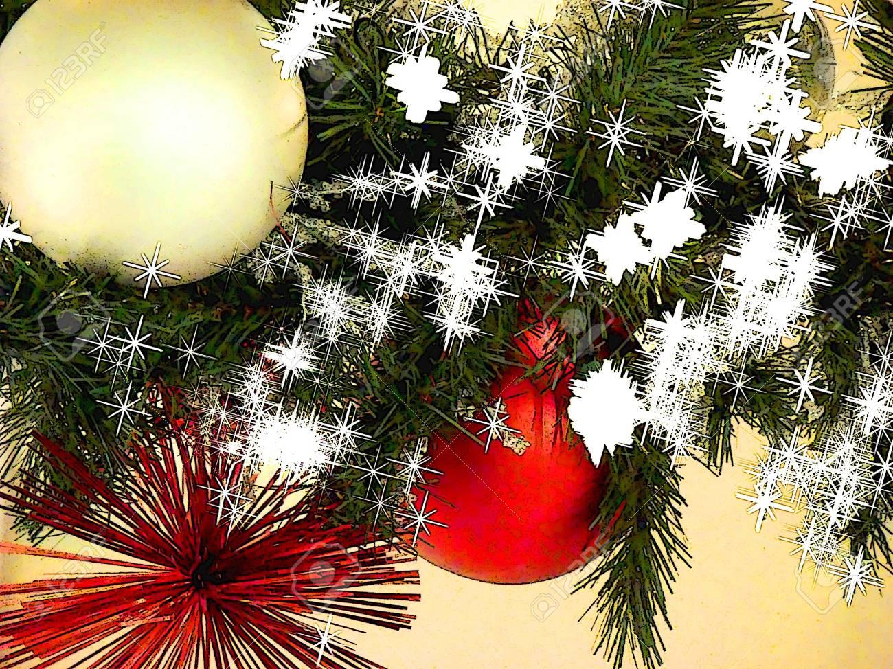 Cartoon Christmas Garland