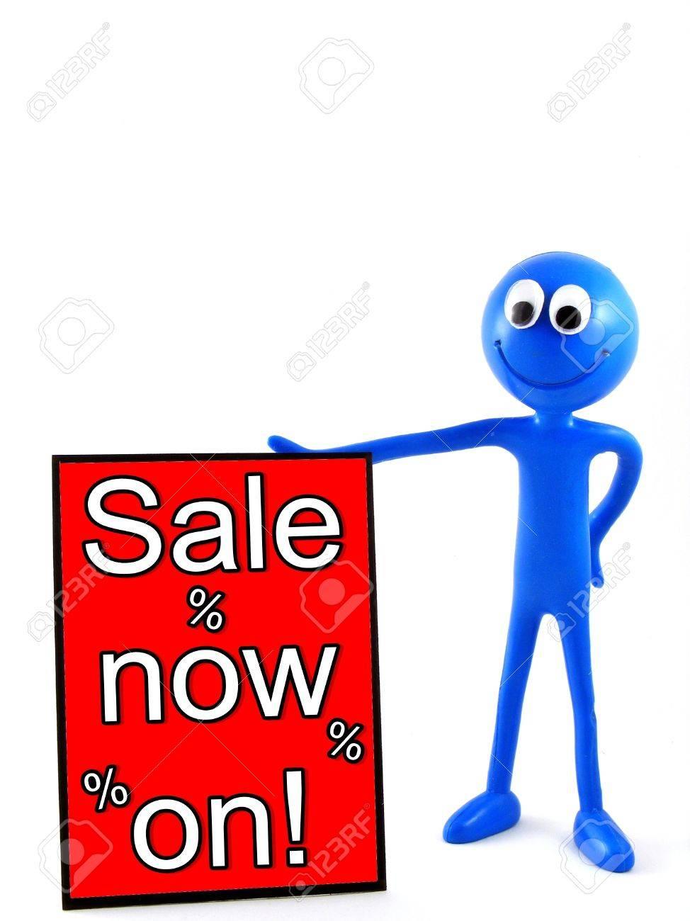 Illustration Of Smiley Sale