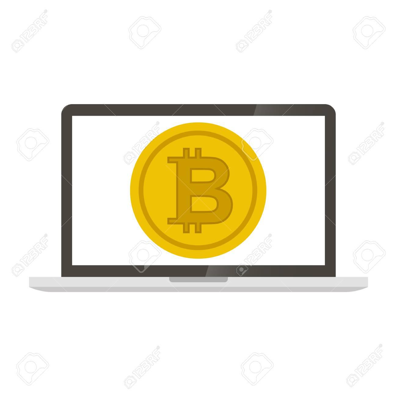 bitcoin laptopon