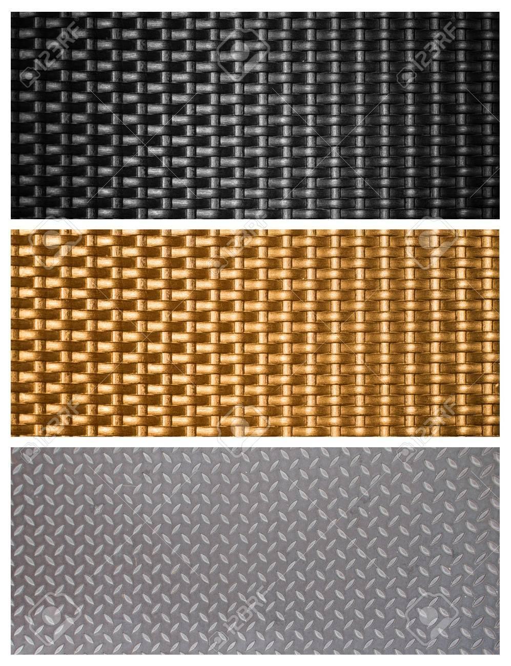 Metallic Black Texture Black Metal Weave Texture