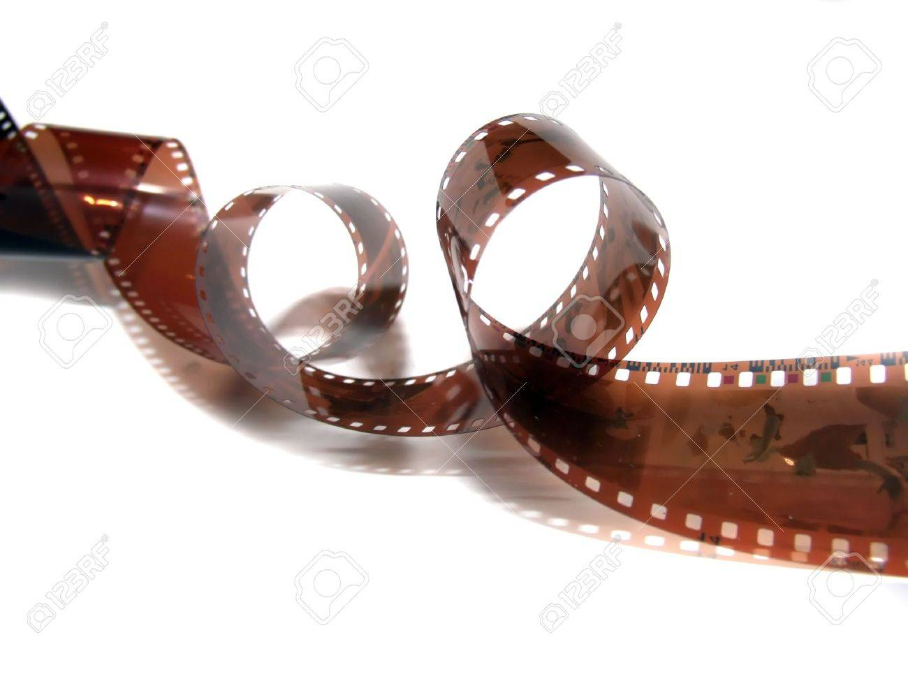 Film strip roll isolated. Stock Photo - 623367