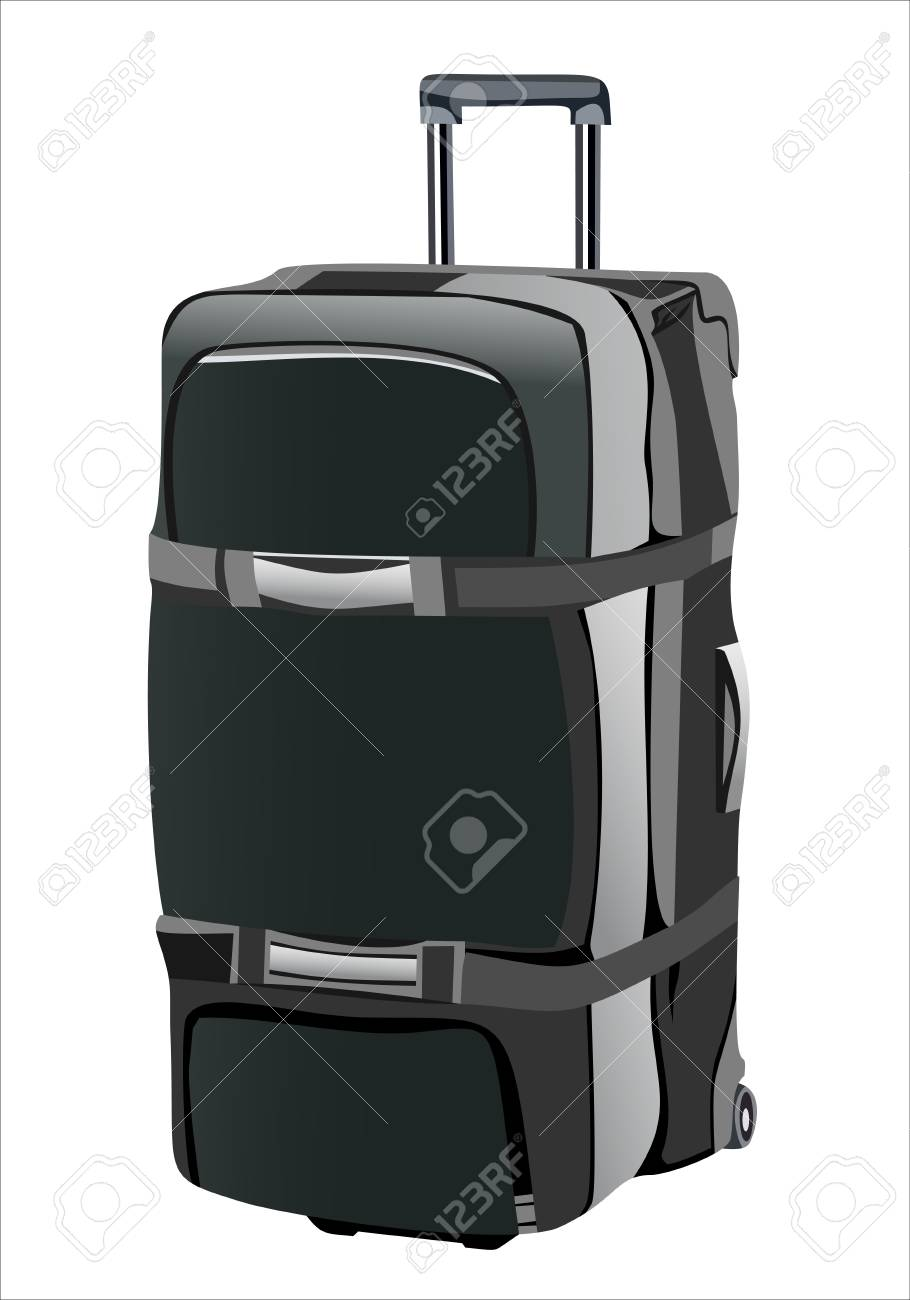 Suitcase for travel Stock Vector - 13963762