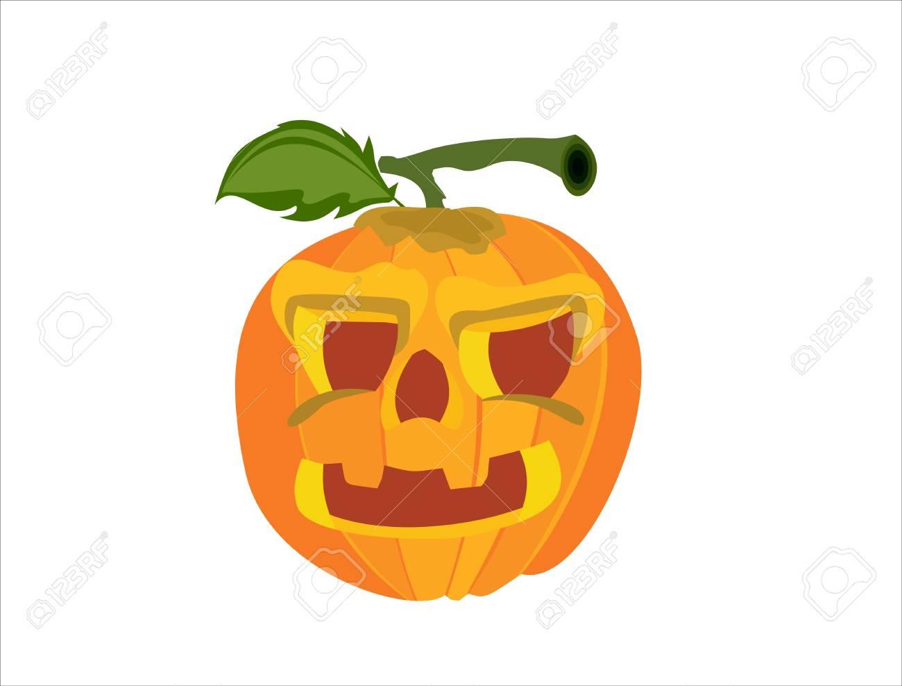 Pumpkin on Halloween Stock Vector - 14199193