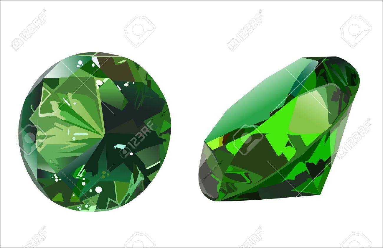 emerald Stock Vector - 14205560