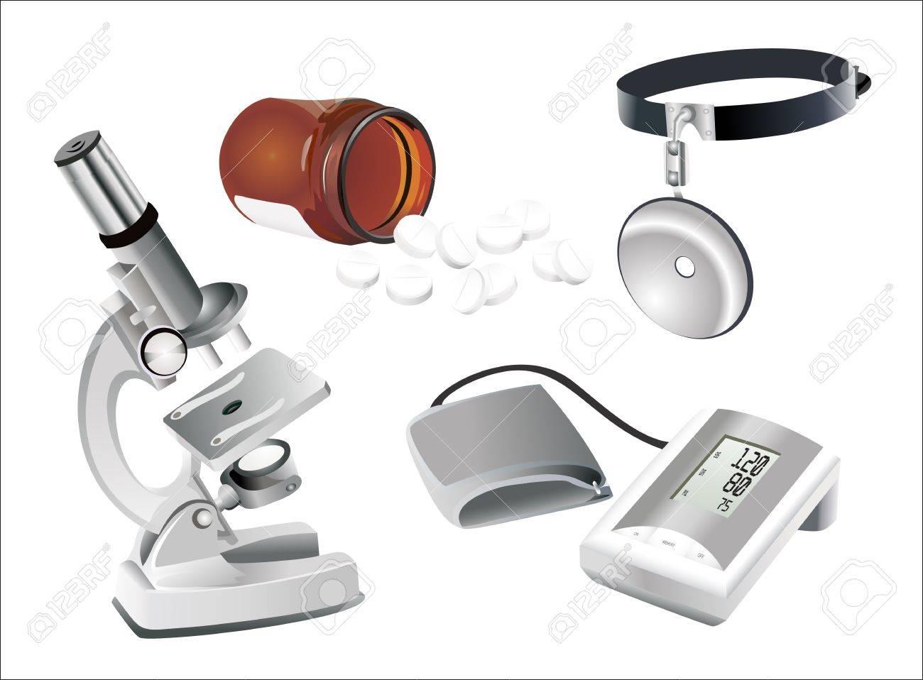 medical set Stock Vector - 14205768