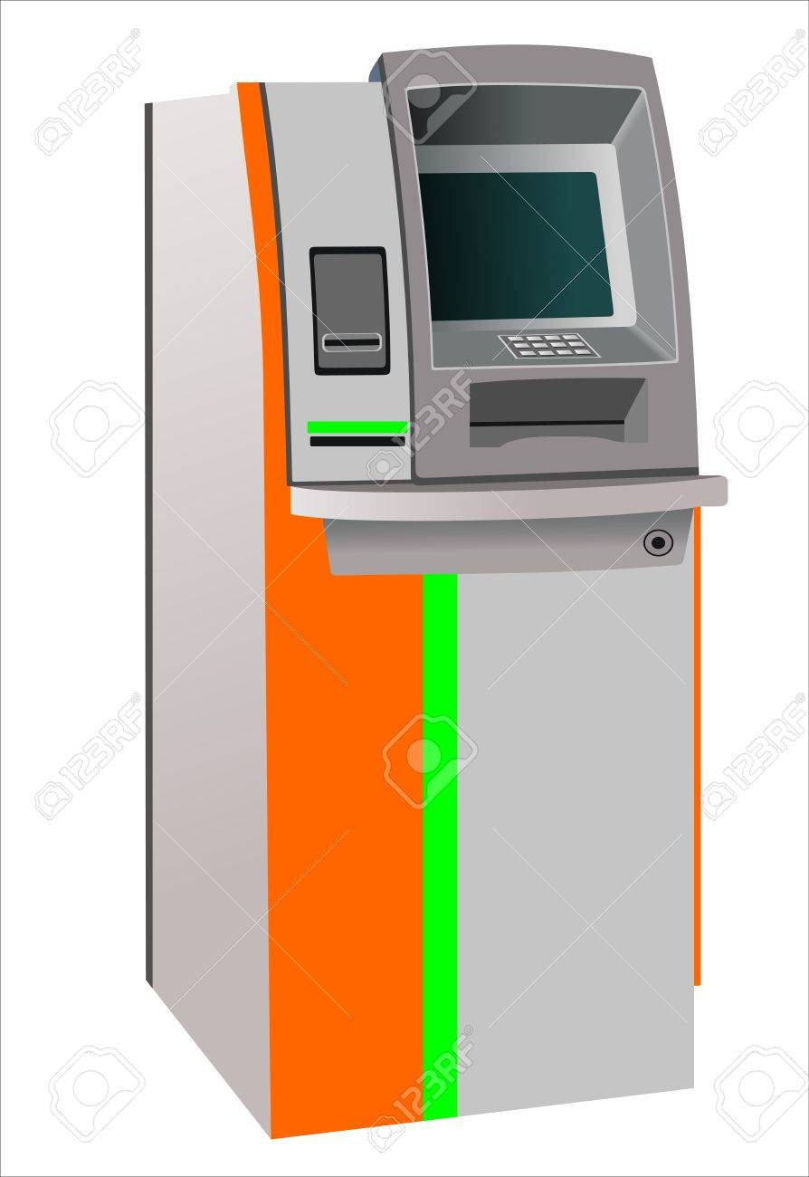 atm machine Stock Vector - 14328109