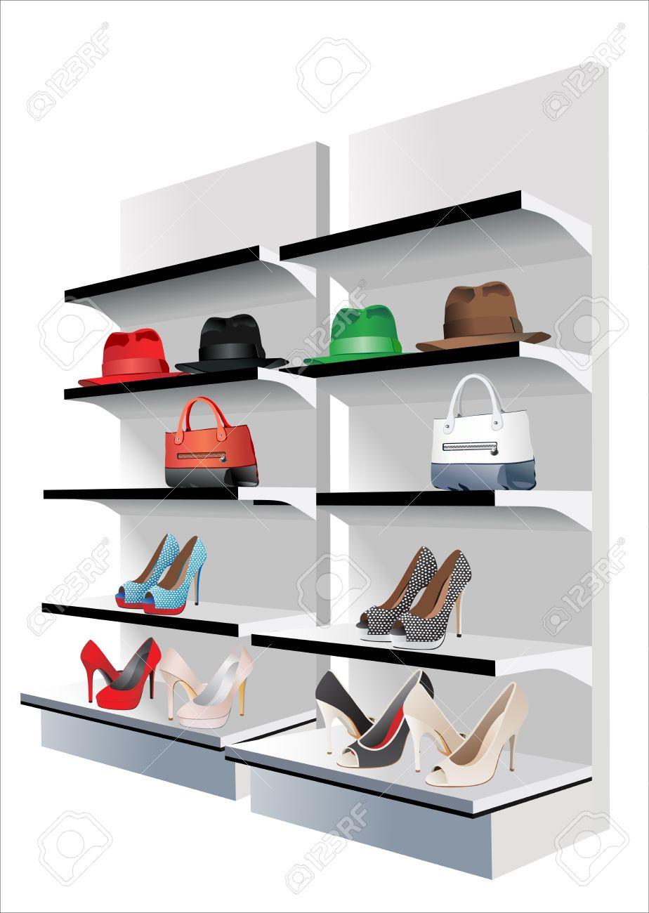 Fashion store Vector set - 15995287