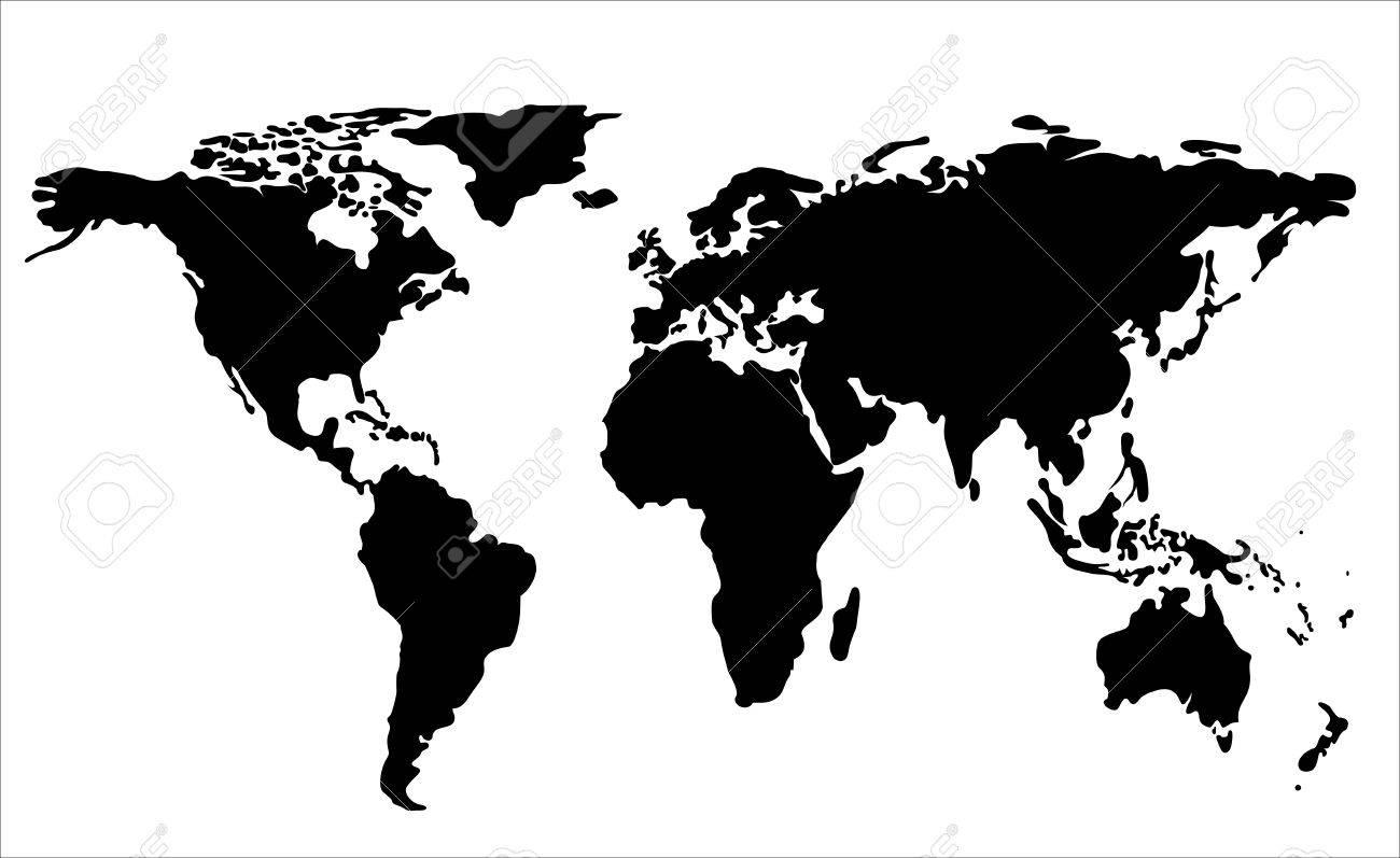 World Map Illustration - 17207300