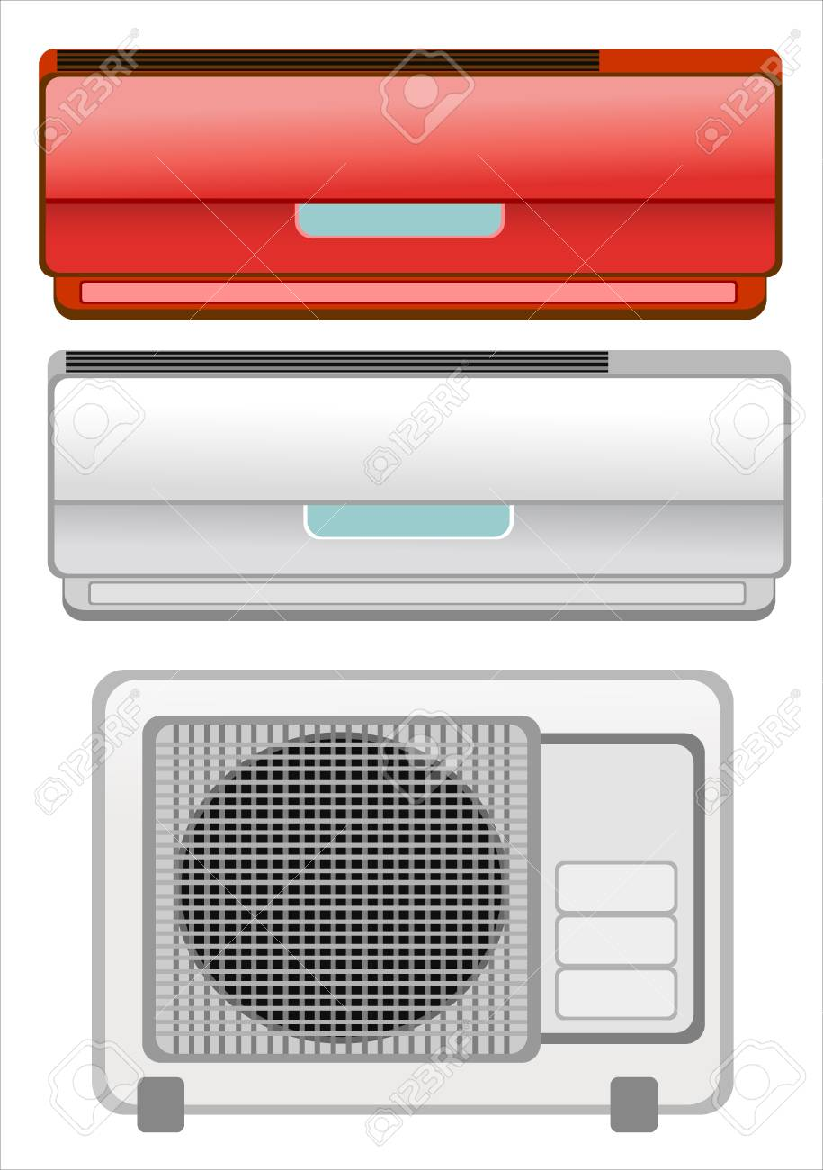 Air conditioner Stock Vector - 18464111
