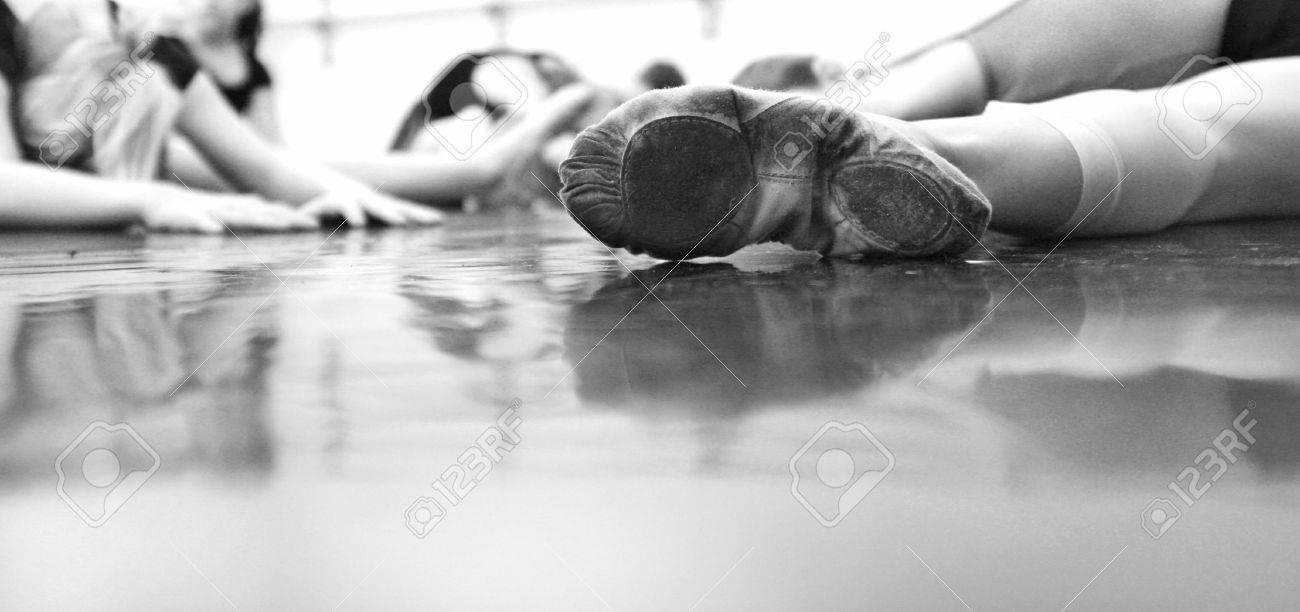 Ballet Dancer Feet - Soft and elegant Stock Photo - 1887733