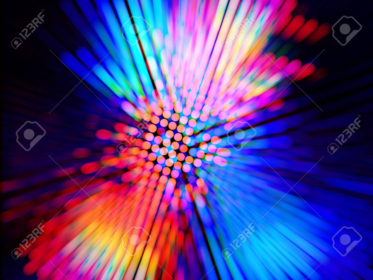 colorful background for disco posters - 90236582