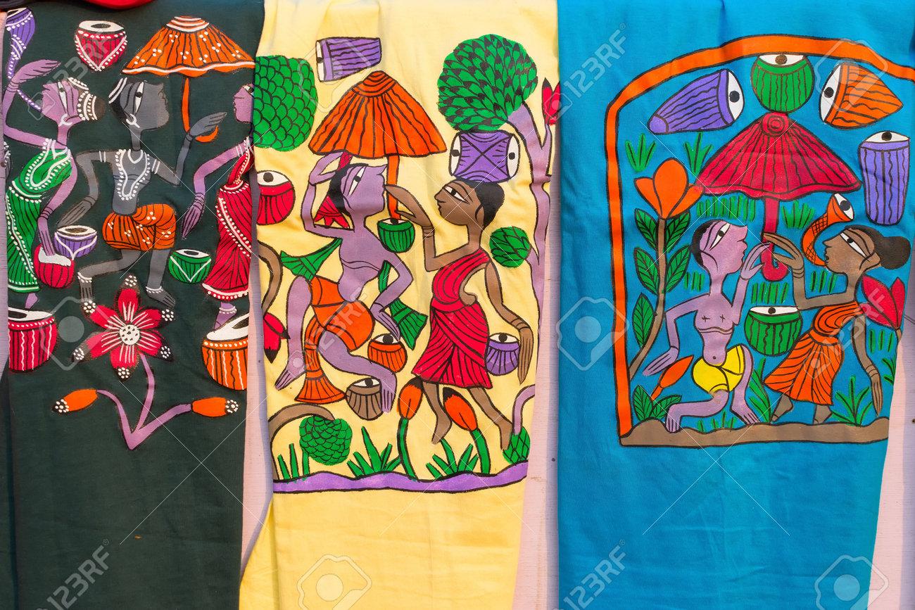 Colourful Handicrafts Are Displayed At Handicrafts Fair Kolkata