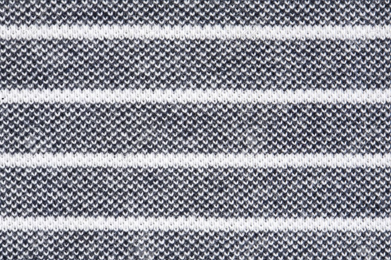 Black And White Striped Fabric Texture Stock Photo Picture And