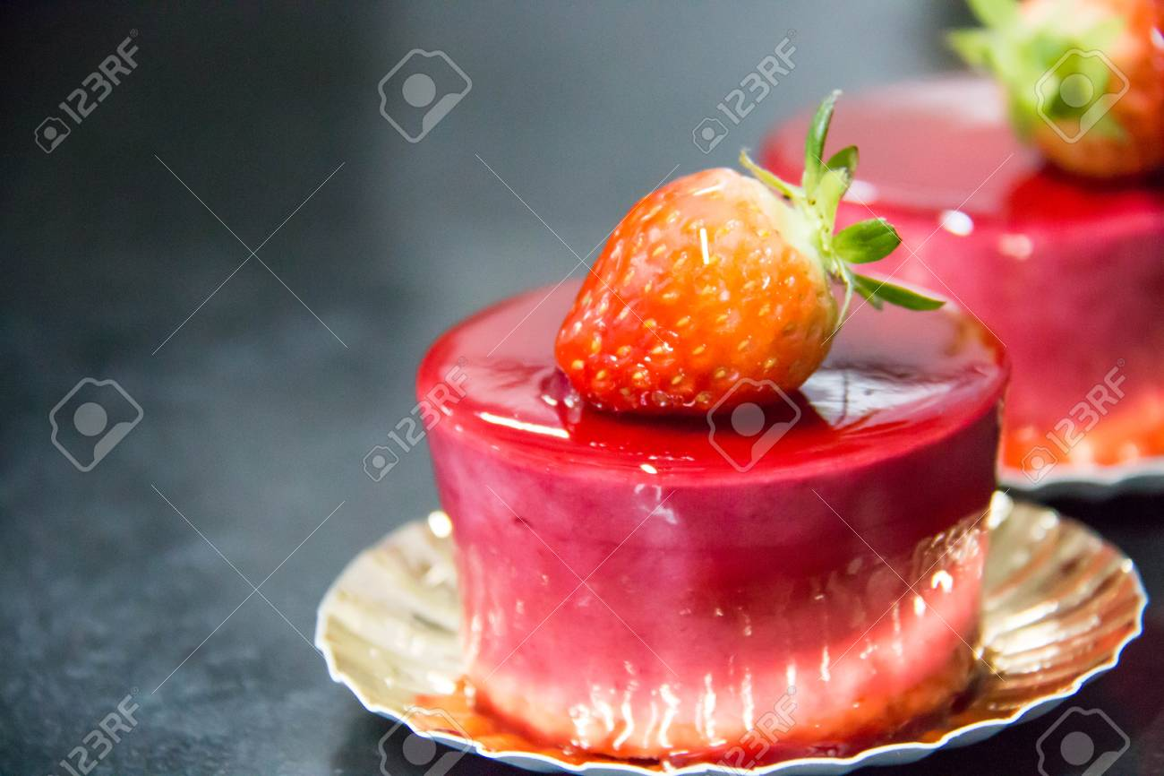 Delicious strawberry mousse 19