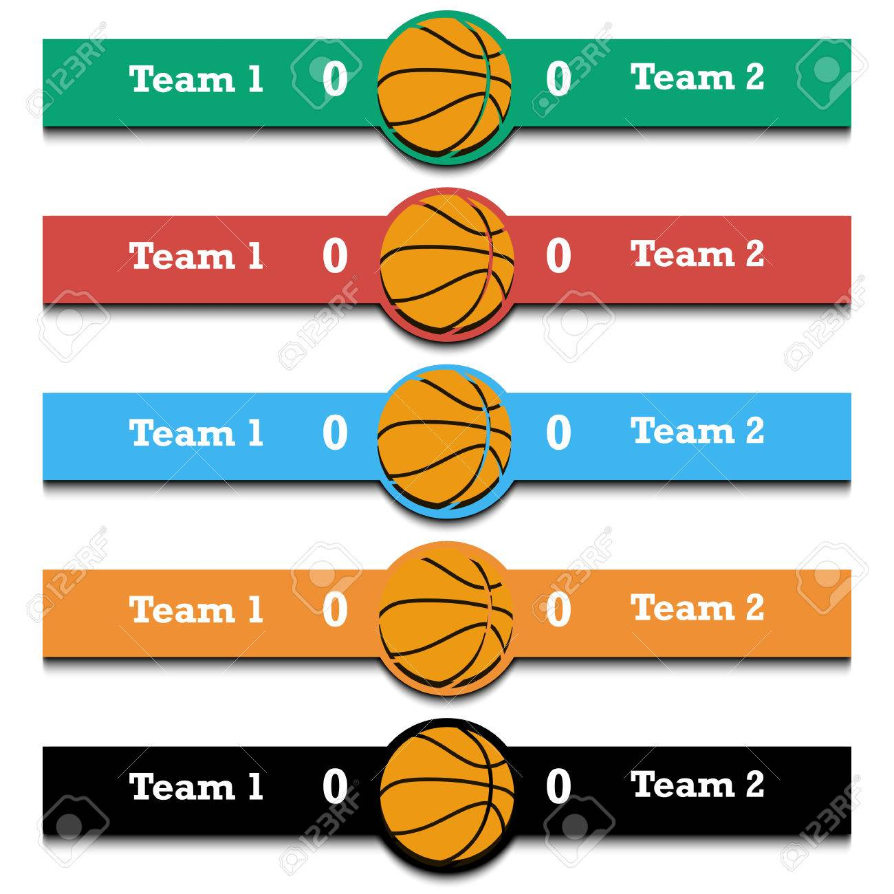 Estadísticas Del Partido De Baloncesto Resultado Del Partido Infografía Ilustración Del Vector Ilustraciones Vectoriales Clip Art Vectorizado Libre De Derechos Image 80559933