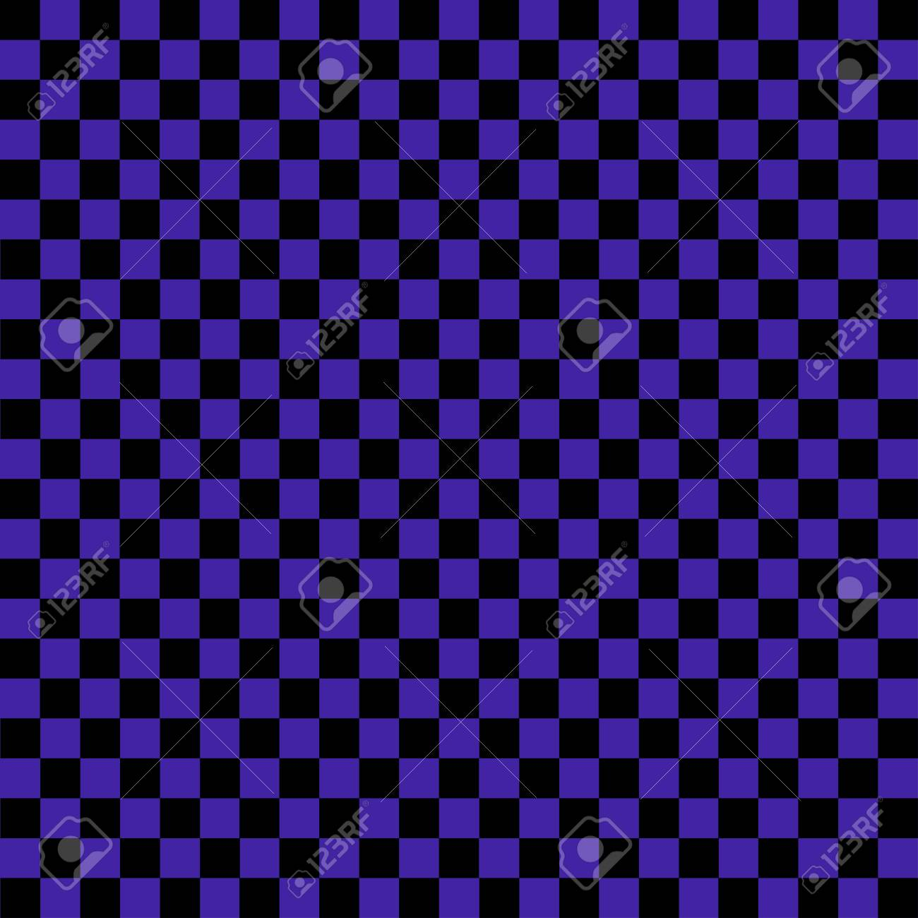 Black And Purple Checkered Background Background In A Cage